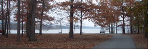 park at Lake Maumelle